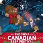 The Great Canadian Beer Festival Banner